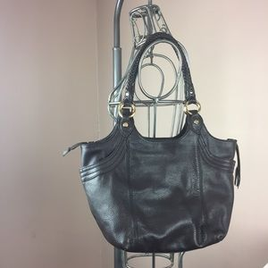 The Sak brown genuine leather hobo purse